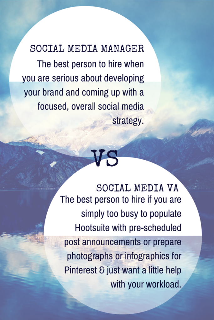SOCIAL MEDIA MANAGER vs SOCIAL MEDIA VA by Lucy Lettersmith